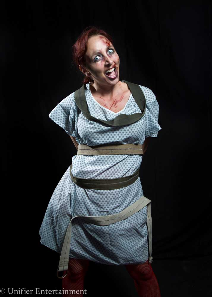 Straight Jacket Scare Actress