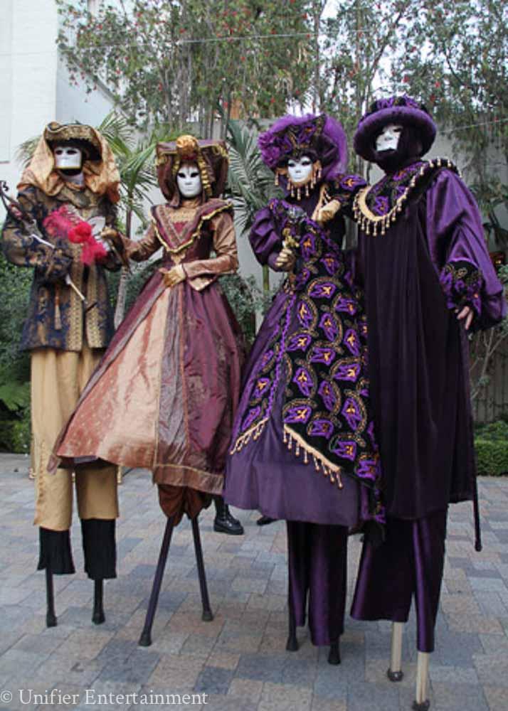 Venetian Stilt Walkers