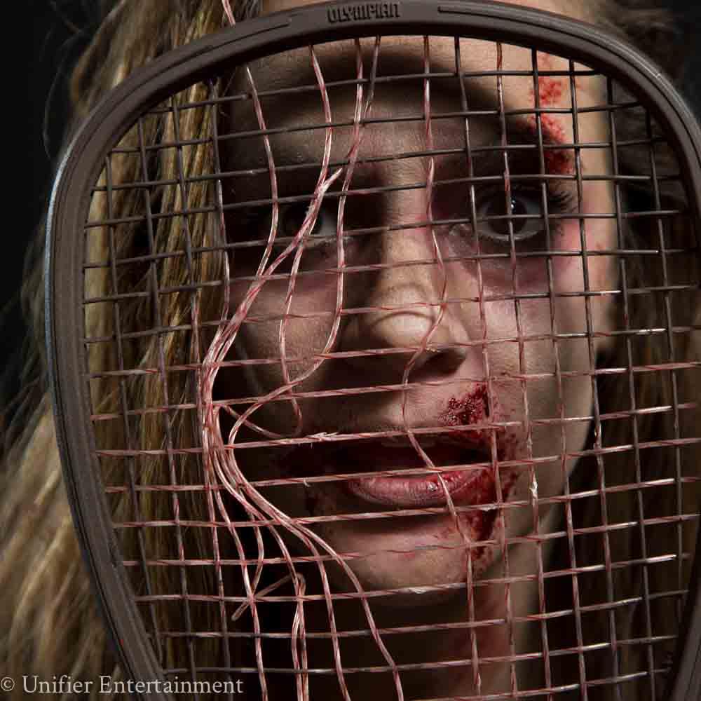 Zombie Tennis Player