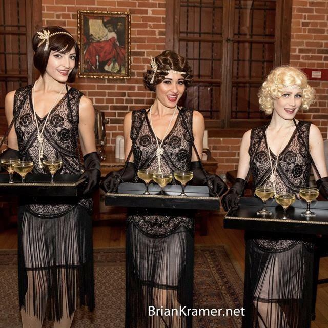 1920s Cigarette Girls