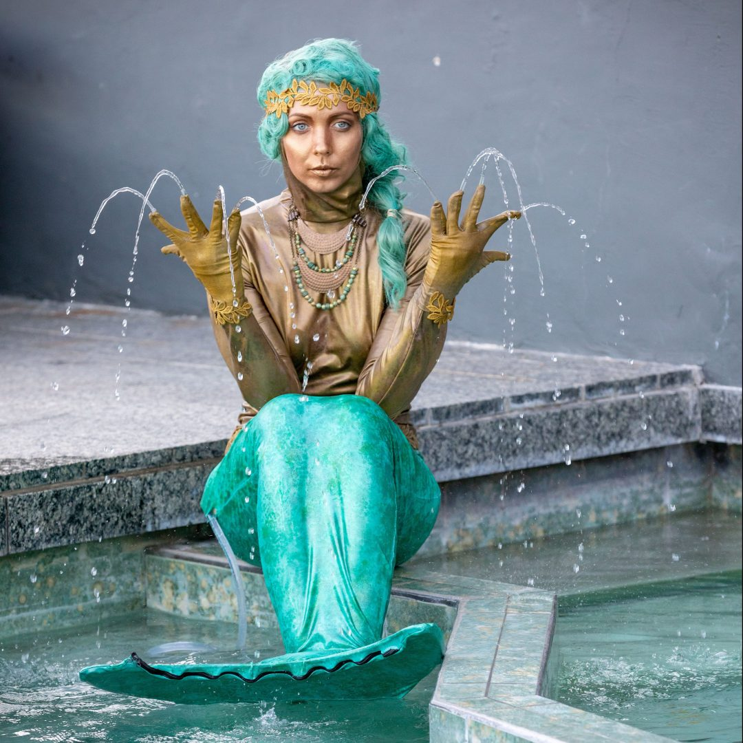 Living Mermaid Fountain