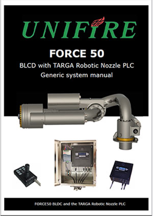 Unifire AB's Robotic Nozzle Product Documentation