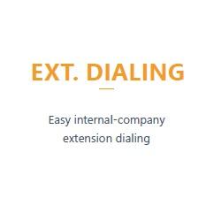 EXT. Dialing