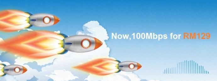 UniFi 100mbps RM129 Promotion