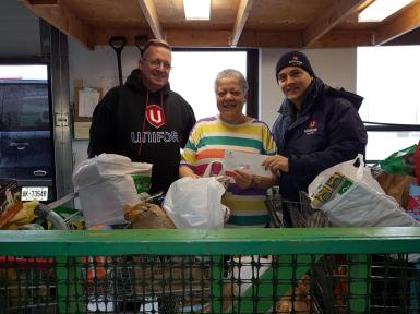 Food Drive -CHQ- Easter Friday April 5 2019