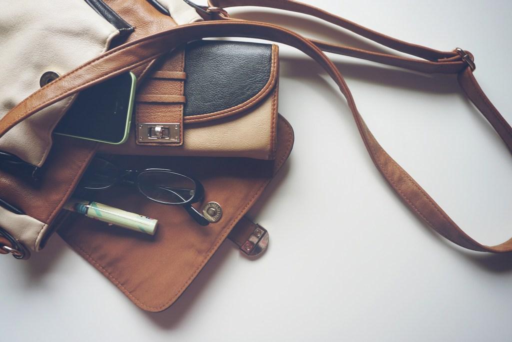 Handbag, wallet, sunglasses, eyeglasses, purse, clutch, tote