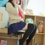 澤田麻央 制服雙馬尾膝上襪