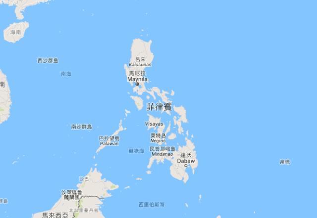 菲律賓制服地圖