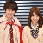 日本網站選出的「日本最帥男高中生」跟「最可愛女高中生」相見歡