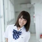 日本最可愛女高中生「永井理子」制服寫真照