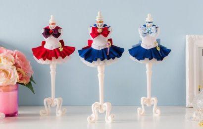 日本 Bandai 推出美少女戰士服飾擺飾,小而精緻有質感