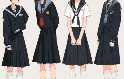 クマノイ的 JK 制服插畫