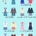 京都動畫女子學生制服一覽