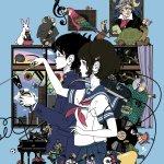 日本插畫家中村佑介替高中音樂課本繪製的封面