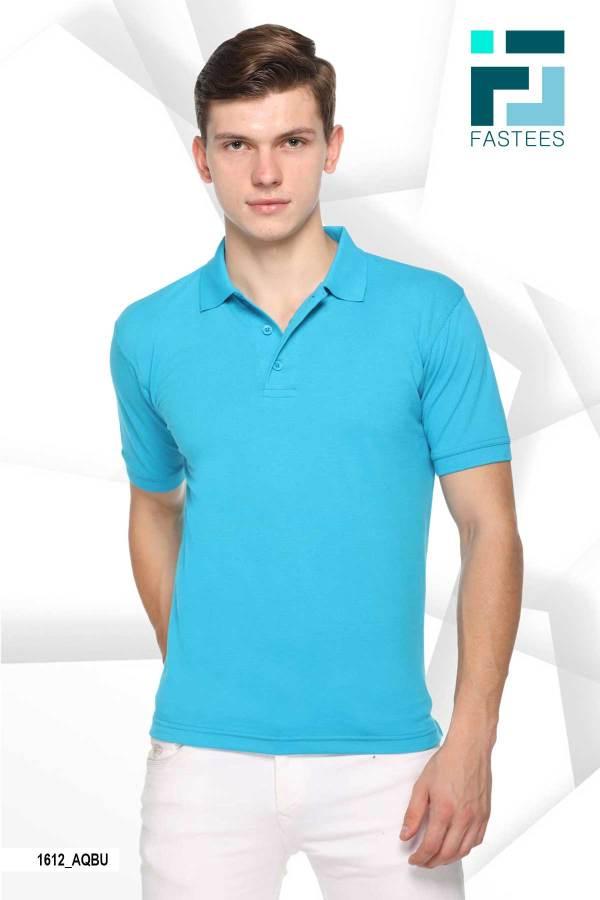 Aqua-Blue-Cotton-Polo-T-Shirt-For-College-Students-1612_AQBU