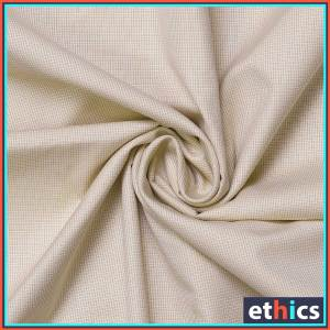 Beige-Micro-Chex-Formal-Uniform-Shirts-Fabrics-for-Corporate-Office-S-445901