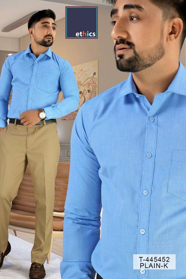 Blue-Color-Mens-Uniform-Shirt-Trousers-Set-For-Hospital-Staff-T-445452-2