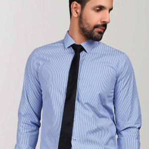 Blue-Stripes-Uniform-Shirts-Formal-Workwear-for-Corporate-Office-BS-85104