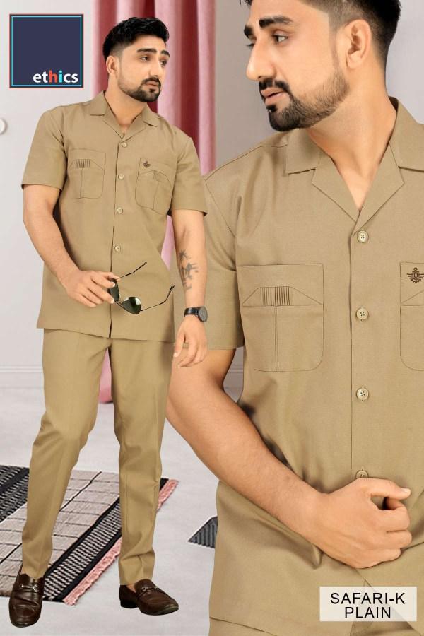 Corporate-Uniforms-Safari-Suit-Fabrics-For-Security-Staff-1046