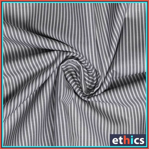 Gray-Stripes-Formal-Wear-Fabrics-for-Corporate-Office-D-98104