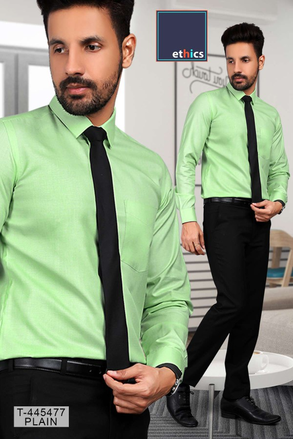 Green-Color-Readymade-Uniform-Shirt-Trousers-Set-for-Formal-Uniforms-T-445477