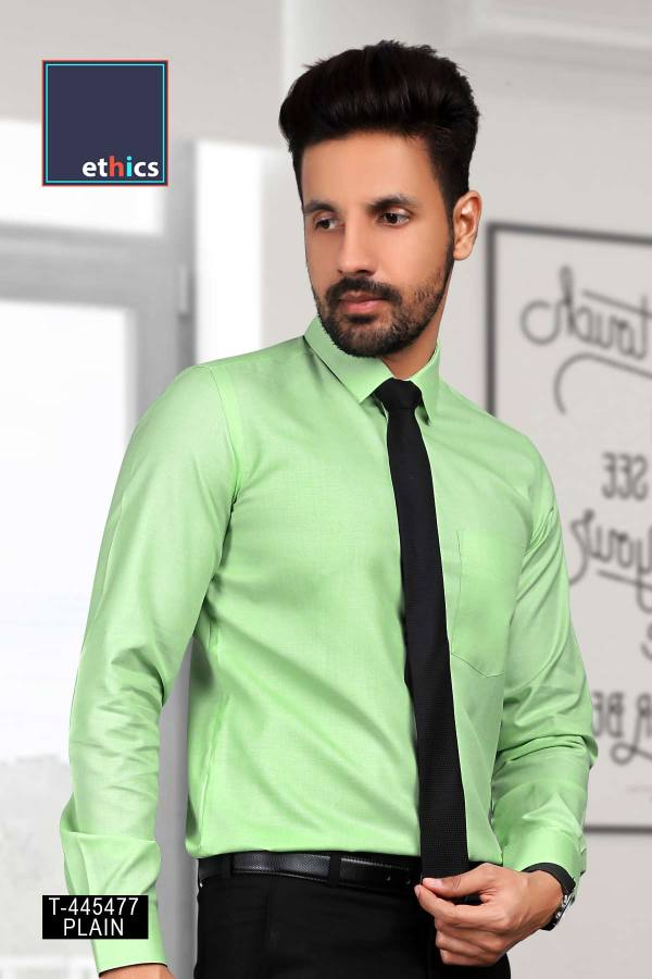 Green-Color-Readymade-Uniform-Shirt-for-Formal-Uniforms-T-445477