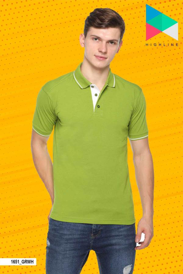 Green-White-Pure-Cotton-Corporate-Event-Polo-T-Shirt-1651_GRWH