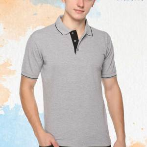 Grey-Blue-Pure-Cotton-Sports-Event-Polo-T-Shirt-1658_GRBL