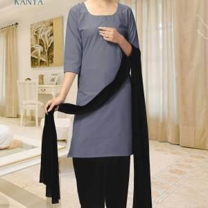 Grey-and-Black-Kanya-Salwar-Kameez-for-Women-Security-Staff-Uniforms-1537