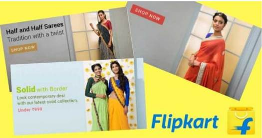 Indian-Sarees-On-Amazon-And-Flipkart