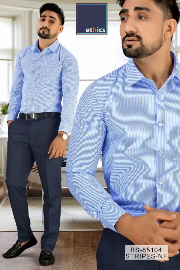 Light-Blue-Plain-Uniform-Shirts-Trousers-Set-for-Office-Staff-T-445468-1