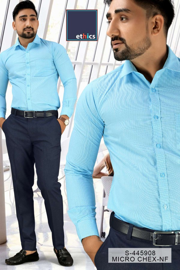 Sea-Green-Color-Formal-Uniform-Shirt-Trousers-Set-for-Corporate-Office-S-445908-1