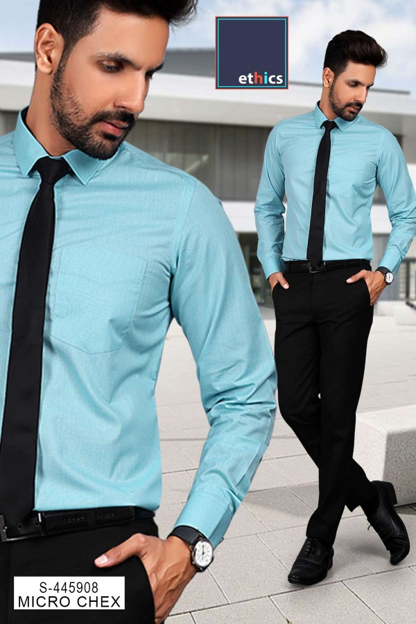 Sea-Green-Color-Formal-Uniform-Shirt-Trousers-Set-for-Corporate-Office-S-445908