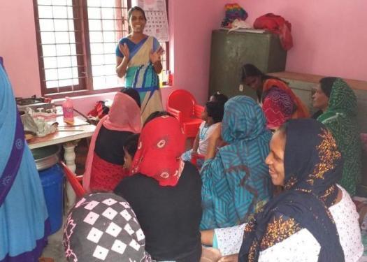 Suposhan Sangini Meeting Rural Women