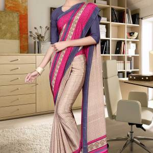beige-and-blue-italian-crepe-silk-showroom-uniform-saree-476