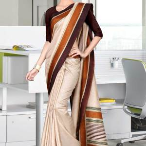 beige-and-coffee-tripura-cotton-hotel-uniform-sarees-460-19