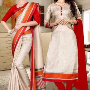 beige-and-maroon-tripura-cotton-corporate-uniform-sarees-combo-459-673