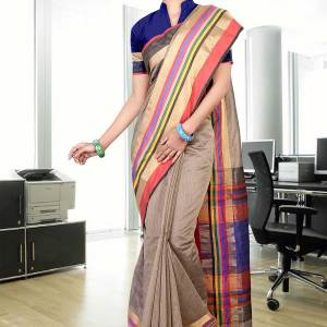 beige-multicoloured-uniform-saree-263