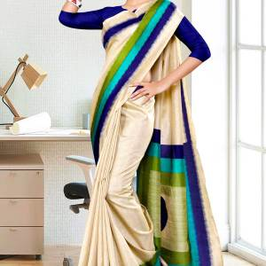 beige-navy-blue-gala-border-premium-polycotton-cotfeel-saree-for-hotel-uniform-sarees-1075-1075-21