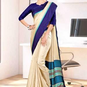beige-navy-blue-gala-border-premium-polycotton-cotfeel-saree-for-institution-uniform-sarees-1074-21