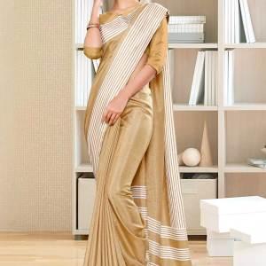 beige-plain-border-premium-polycotton-raw-silk-saree-for-office-uniform-sarees-1103