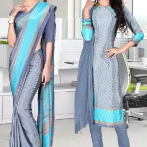 blue-and-blue-italian-crepe-silk-hotel-uniform-saree-salwar-combo-496-637
