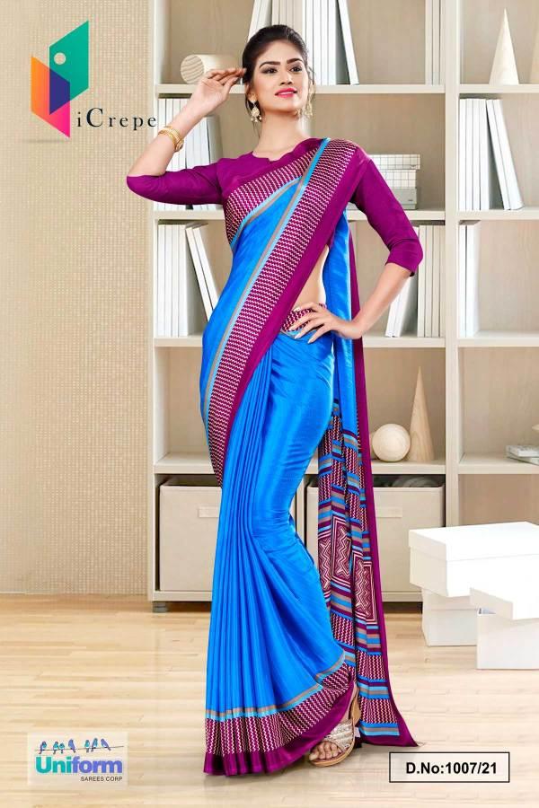 blue-wine-premium-italian-silk-crepe-saree-for-jelwellery-showroom-uniform-sarees-1007