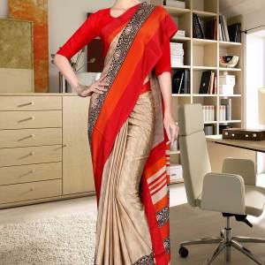 brown-and-red-italian-crepe-silk-showroom-uniform-saree-527