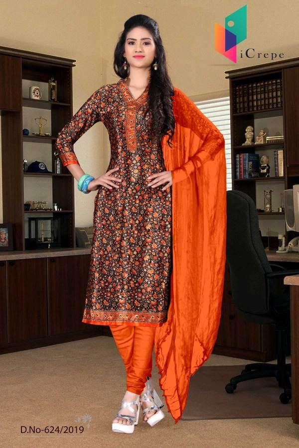 brown-orange-italian-crepe-silk-teachers-uniform-salwar-kameez-624