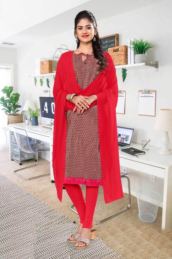 brown-red-small-print-premium-italian-silk-crepe-salwar-kameez-for-office-uniform-sarees-01021
