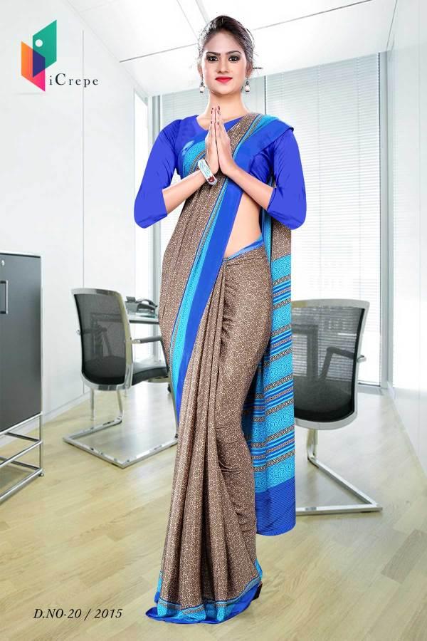 brown-with-blue-border-italian-crepe-uniform-saree-20-15