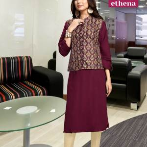 maroon-and-beige-corporate-office-uniforms-for-women-1504