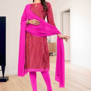 dark-pink-small-print-premium-italian-silk-crepe-salwar-kameez-for-hotel-uniform-sarees-01024
