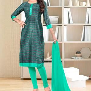 green-border-small-print-premium-italian-silk-crepe-salwar-kameez-for-hospital-uniform-sarees-01022
